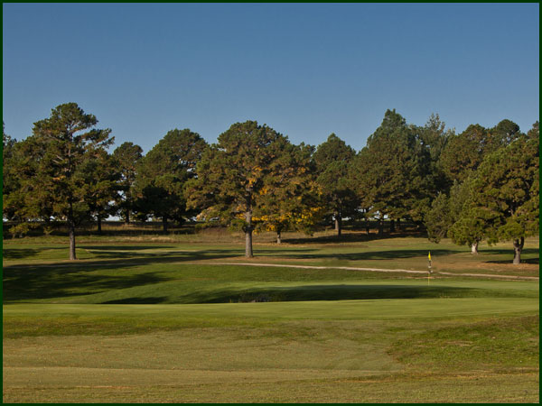 The Number 6 Green at Spring Creek Golf Club